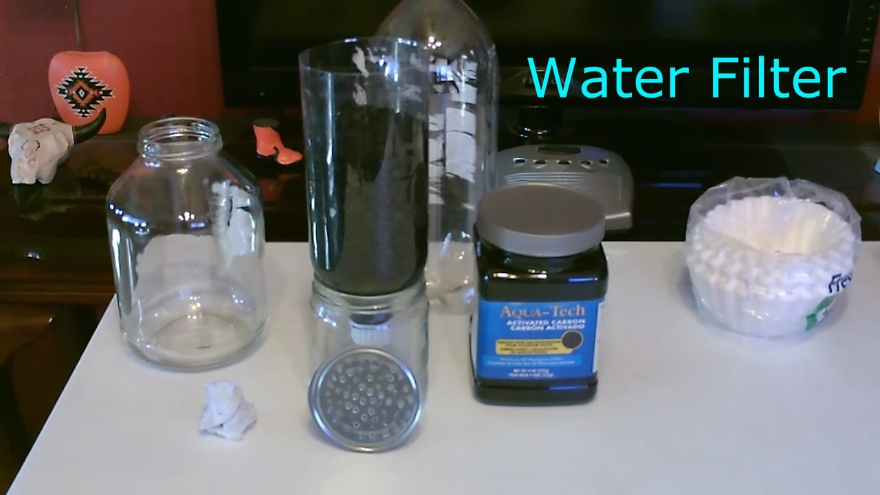 Diy water filter homemade high volume water filter for How to make tap water safe for fish