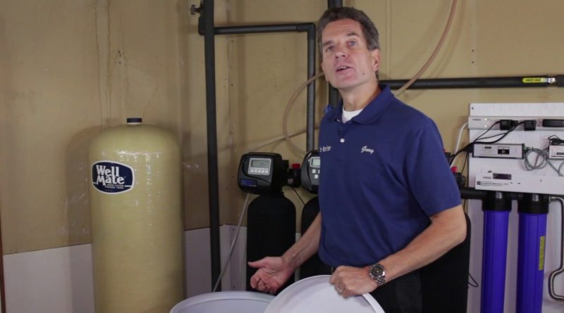 Water Softener Maintenance Cleaning Out Your Brine Tank ...