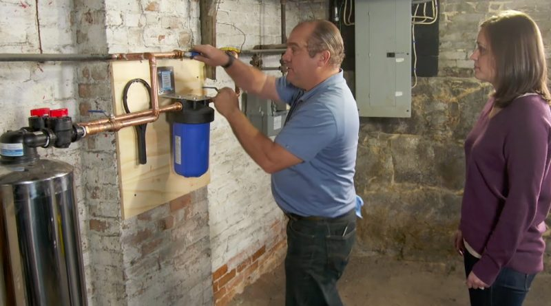 How To Install A Whole House Water Filter Amazin Walter