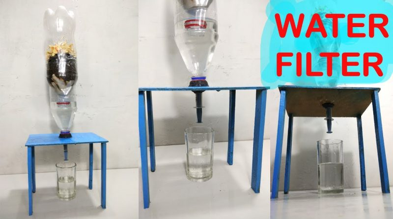 How To Make Water Filter At Home Easy Way Diy Amazin Walter