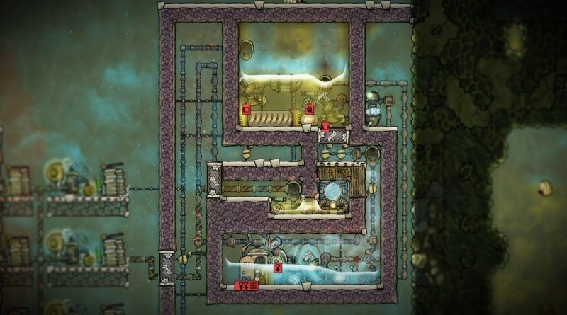 Water Purification Plant Experiment Oxygen Not Included