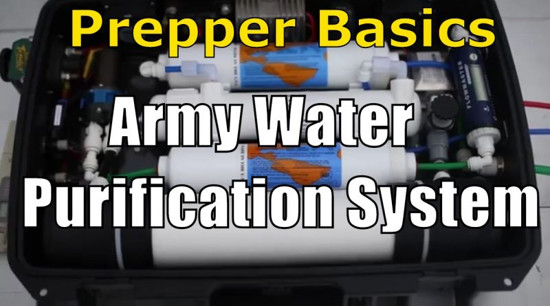 Prepper Basics Army Water Purification System Review